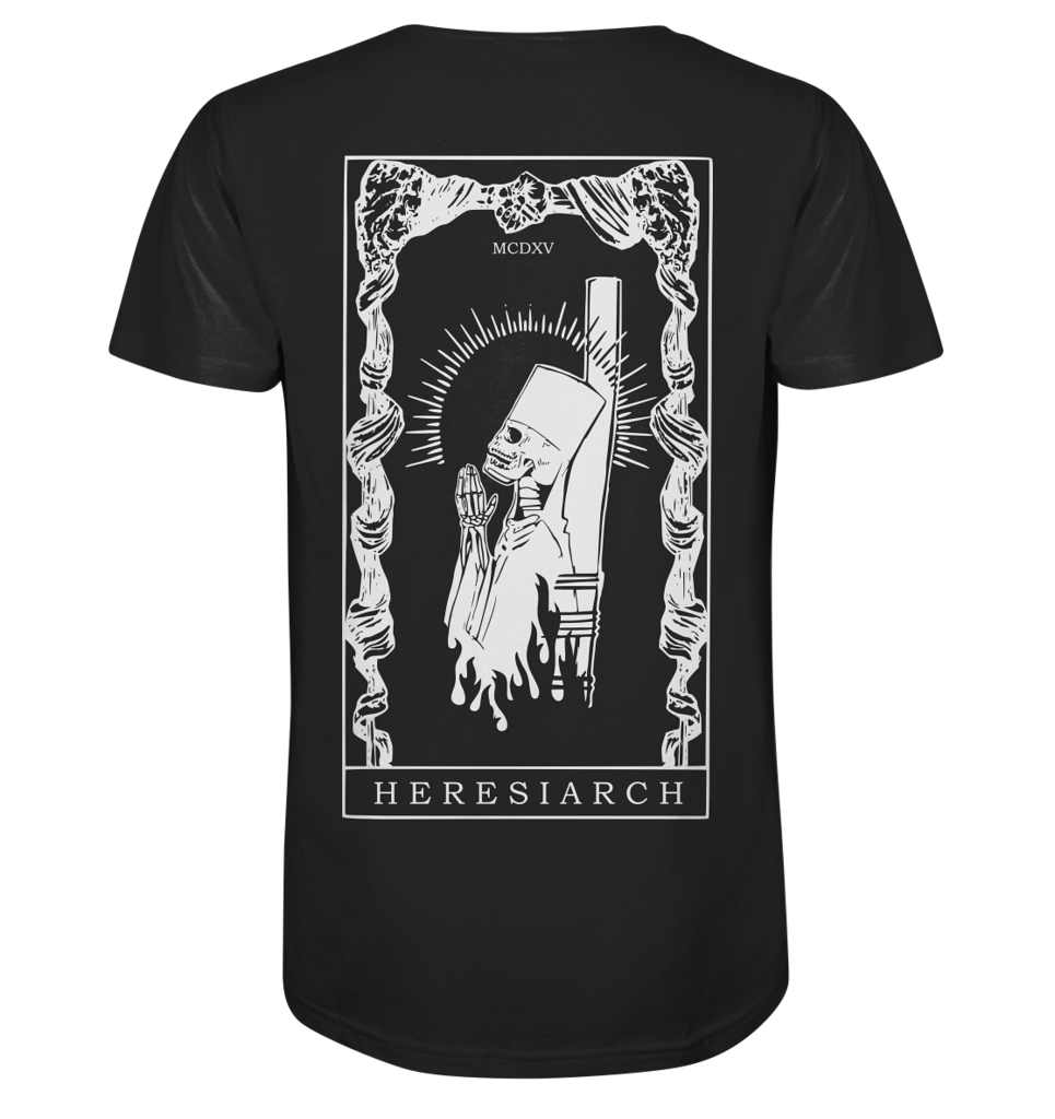 Shirt HERESIARCH - back - schwarz