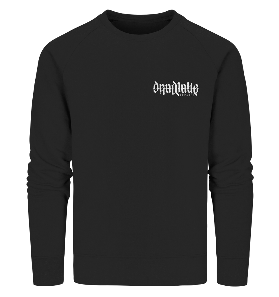 Sweater DEADLAKE APPAREL - front - schwarz